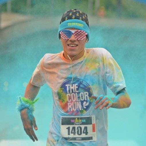 Compre suas fotos do evento The Color Run SP no Fotop
