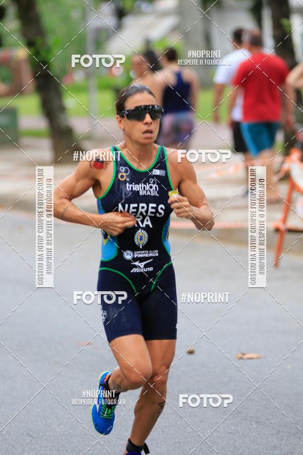 Compre suas fotos do evento28º Triathlon Internacional de Santos - 2019 on Fotop