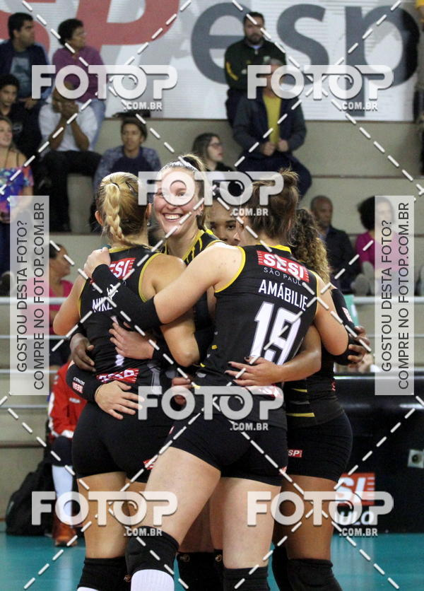 Buy your photos at this event Superliga Feminina de Vôlei - SESI-SP vs RENATA-VALINHOS on Fotop