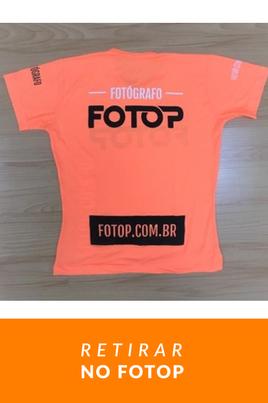 Camiseta Fotop Poliéster - Retirar no Fotop (sem frete)
