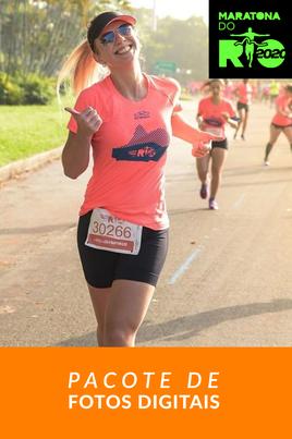 Maratona do Rio 2020 - Pacote de Fotos - 5K
