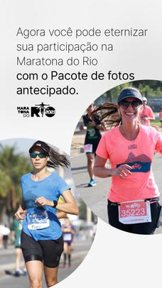 Maratona do Rio 2020 - Pacote de Fotos - 10K