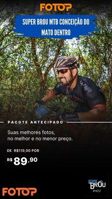 PACOTE DE FOTOS - SUPER BROU MTB CONCEIÇÃO DO MATO DENTRO