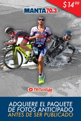 Manta 70.3 (1900 Swim-90K Bike - 21K Run) PACK DE FOTOS