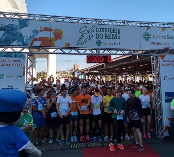 Circuito SESI Corridas do Bem Criciúma 2018 no Fotop