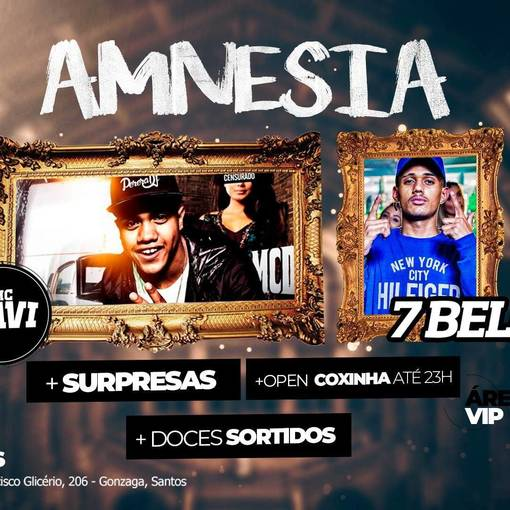 Amnesia: MC Davi + MC 7Belo on Fotop