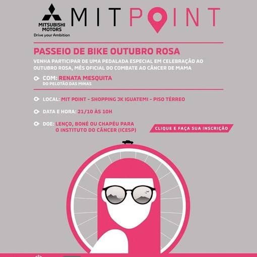 Passeio de Bike Mitsubishi Outubro Rosa on Fotop