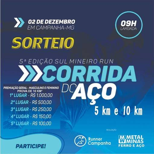 5 ° Edicão Sul Mineiro Run Corrida do Aço. on Fotop