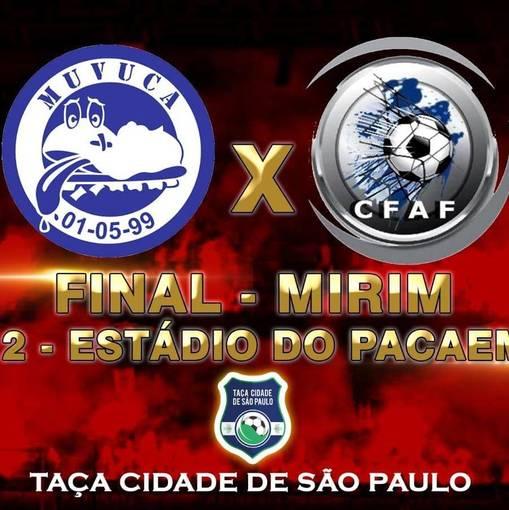 TAÇA CIDADE DE SÃO PAULO - TABOÃO DA SERRA X MUVUCA - FINAL MIRIM on Fotop