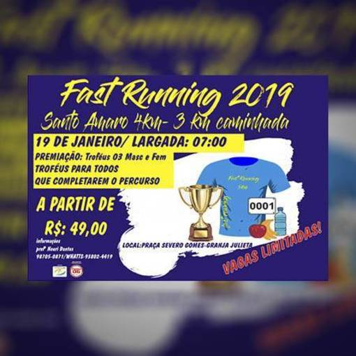 1ª Fast Running Santo Amaro 2019 on Fotop