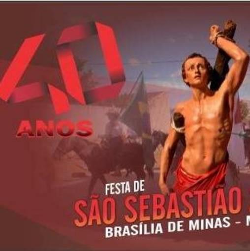 40 a. Festa de São Sebastião - Brasília de Minas  on Fotop