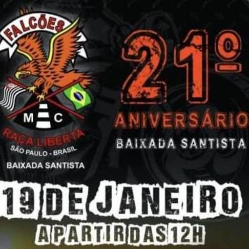 21* Aniversario Falcões Baixada Santista on Fotop