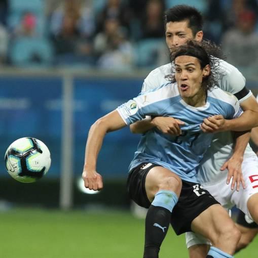 Uruguai x Japão En Fotos
