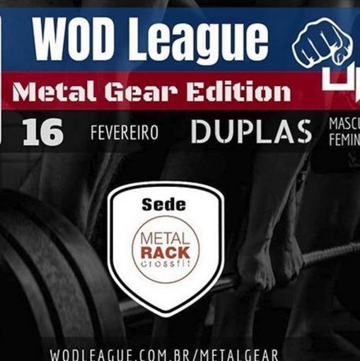 WodLeague Metal Gear Edition - Crossfit Metal Racksur Fotop