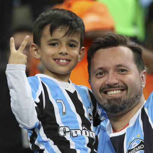 Grêmio x Universidad no Fotop