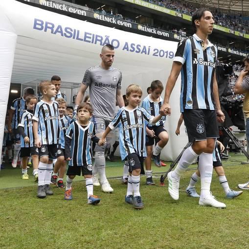 Grêmio x SantosEn Fotos
