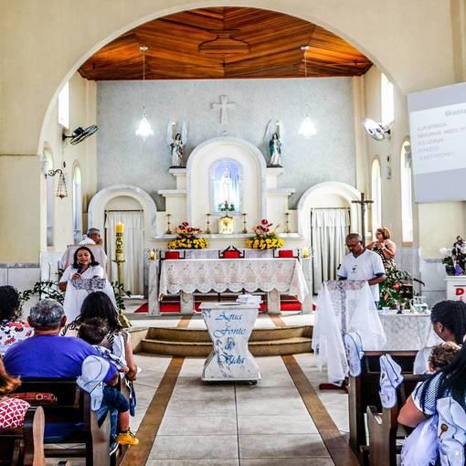 BATIZADO PARÓQUIA NOSSA SENHORA DE FÁTIMA 28-04-2019 on Fotop