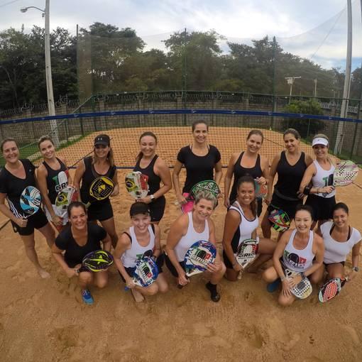 Torneio Feminino de Beach Tennis Florais Cuiabá no Fotop