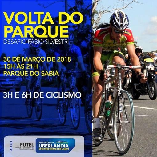 Desafio ciclismo Volta do parque Sabiá no Fotop