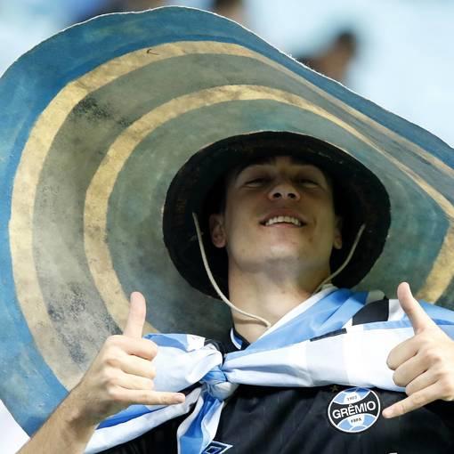 Grêmio x Libertad no Fotop