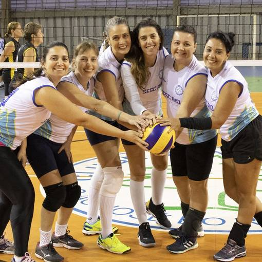 Equipes do 19º Camp. de Volei Masc. e Fem. on Fotop