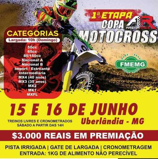 1ª Etapa Copa Arena Race de Motocross on Fotop