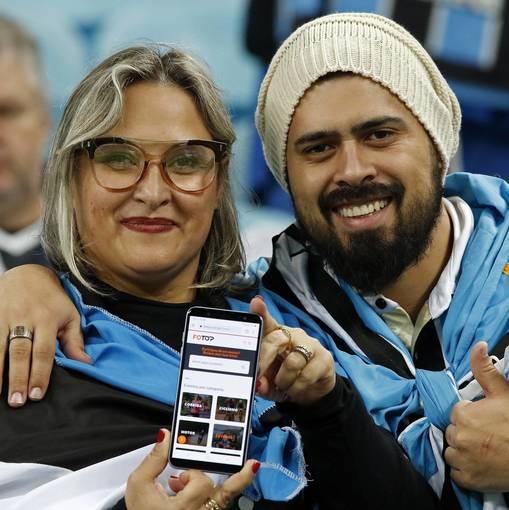 Grêmio x Athlético on Fotop