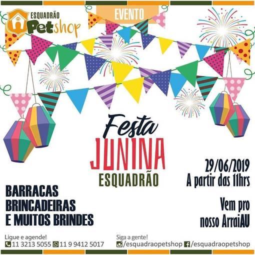 Festa Junina Esquadrão - ESQUADRÃO PET SHOP on Fotop
