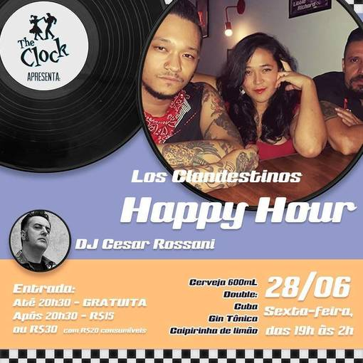 Happy Hour - The Clock on Fotop