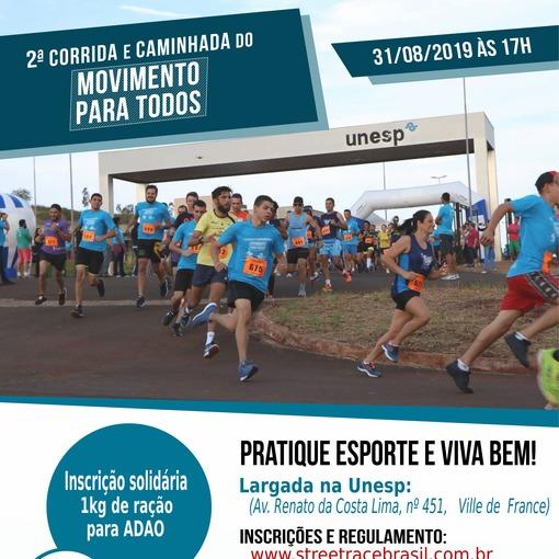 II CORRIDA E CAMINHADA DO MOVIMENTO PARA TODOS - UNESP on Fotop