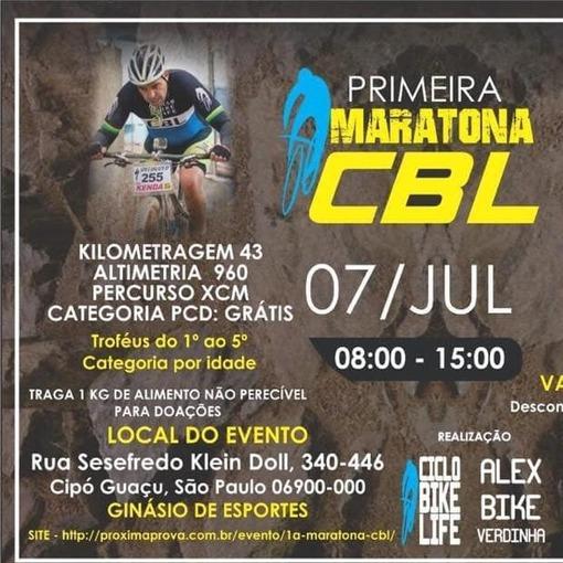1º Maratona CBL Alex Verdinha no Fotop