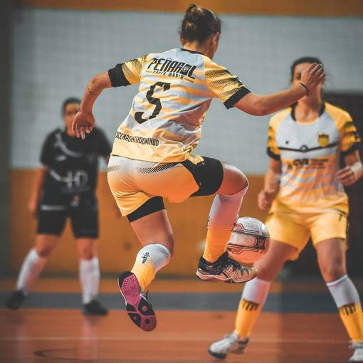 Citadino de Futsal Feminino - A.C.F.F Santos x Peñarol on Fotop