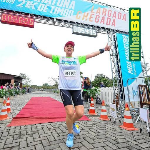1ª Meia Maratona Timbó on Fotop
