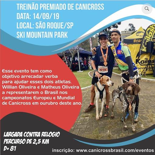 Treinão Premiado de Canicross on Fotop