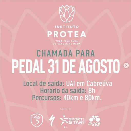 Pedal Protea pela cura do câncer de mama on Fotop