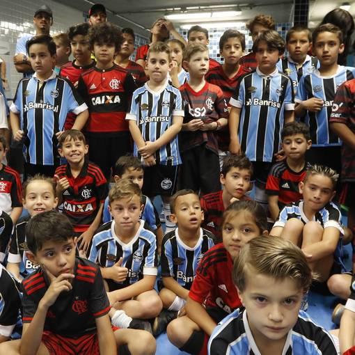 Grêmio x Flamengo no Fotop
