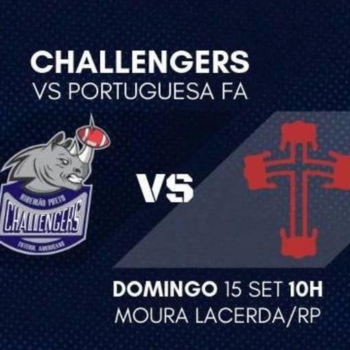 Liga BFA - Ribeirão Preto Challengers vs Portuguesa FAsur Fotop