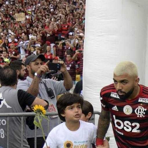 Crianças Flamengo x Santos  on Fotop