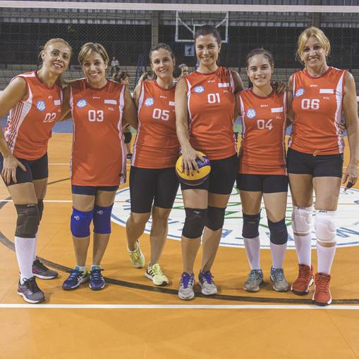 Equipes do 20º Volei Masculino e Feminino on Fotop