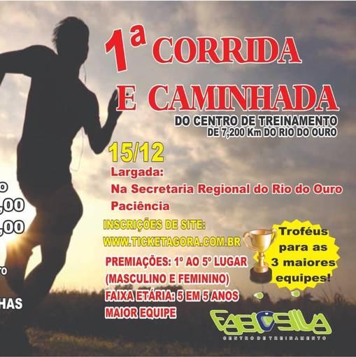 1º CORRIDA E CAMINHADA Central de treinamento de RIO DO OURO  on Fotop