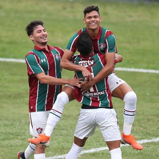 Fluminense x Coritiba - Brasileiro Sub20 on Fotop