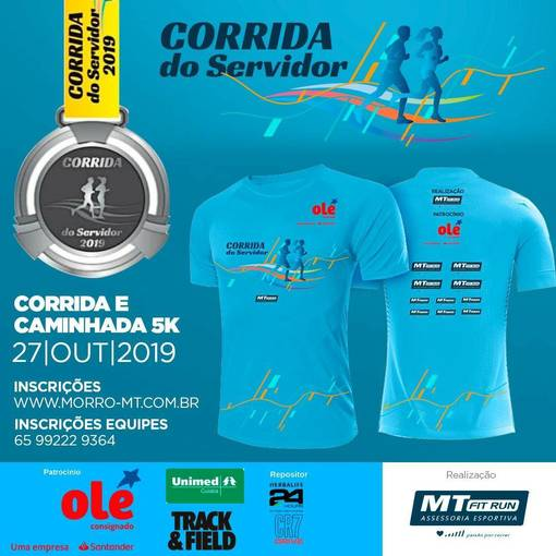 Corrida do Servidor 2019 no Fotop