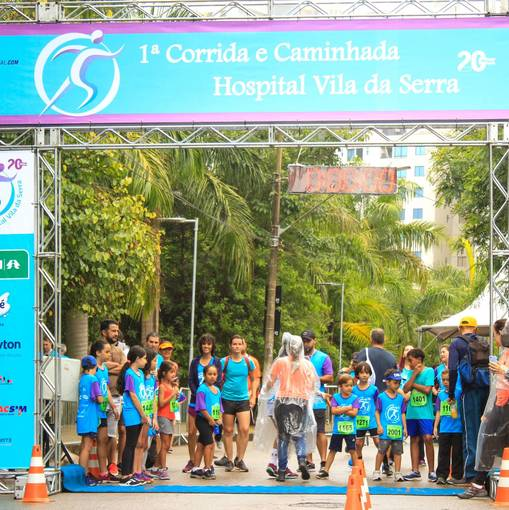 1° CORRIDA E CAMINHADA HOSPITAL VILA DA SERRA no Fotop