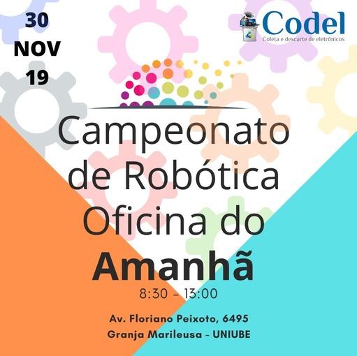 CAMPEONATO DE ROBÓTICA on Fotop