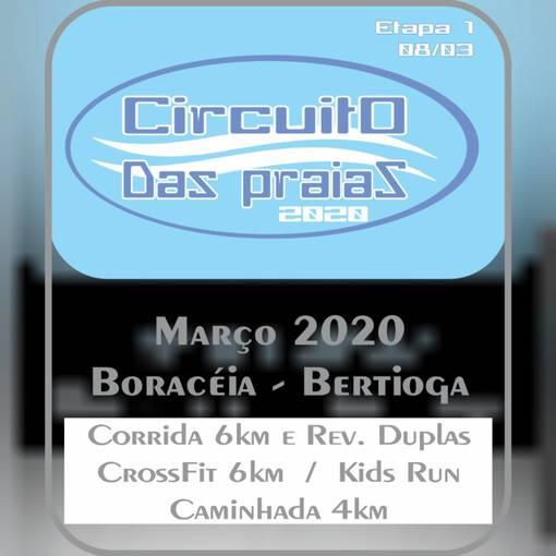 Circuito das Praias 2020 - Etapa 1 - Boracéia no Fotop