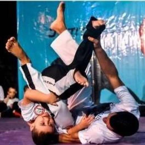Apresentação de Capoeira e Ju Jitsu 2019 on Fotop