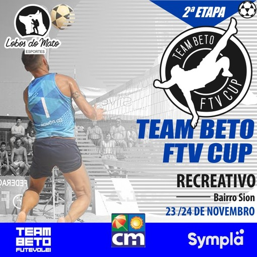 I TEAM BETO CUP 2019 - ETAPA CLUBE RECREATIVO | FUTVOLEI  on Fotop
