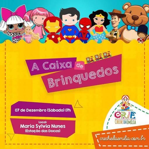 A Caixa de BrinquedosEn Fotop