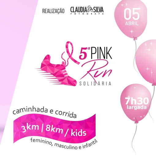5ª PINK RUN SOLIDÁRIA  on Fotop