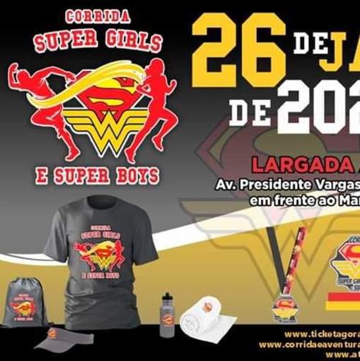 1. CORRIDA Super Girls e Super Boyis  de Itanhaém  on Fotop